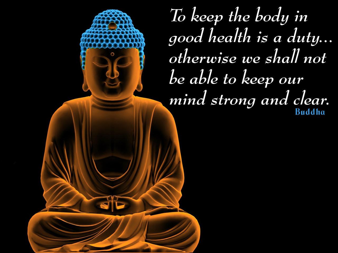 Good Health Quotes Tokeepthebodyingoodhealthisadutyotherwiseweshallnot